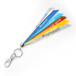 Ribbon key ring